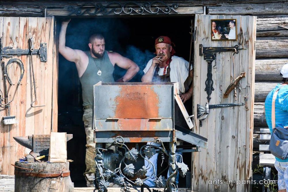 russian blacksmiths