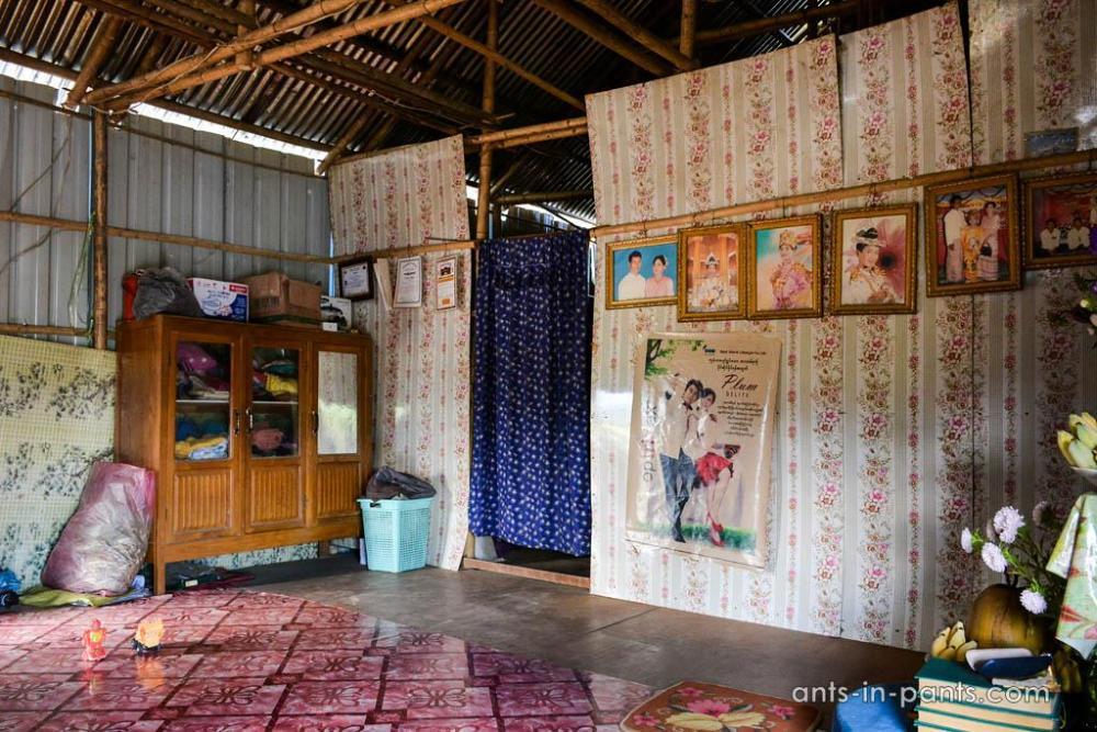 бирманский дом
