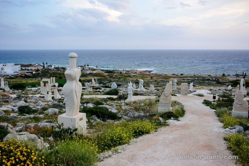 Agia Napa Sculpture and Cactus Parks
