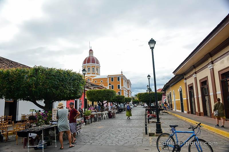 main streets of Granada, Nicaragua