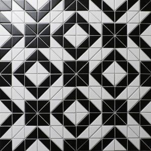 Triangle Triangle Tiles Floors Kitchen Bathroom Walls