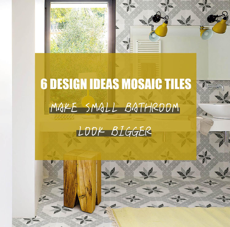 6 design ideas mosaic tiles will make