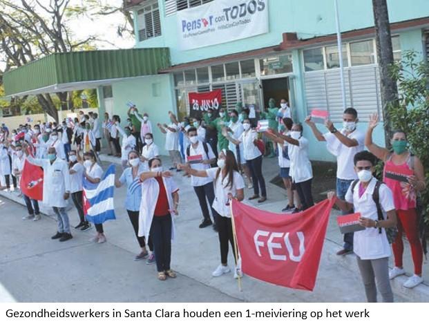 Antwoord van Cuba op de crisis: mobilisatie voor productie en gezondheidszorg