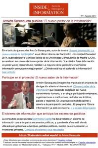 Inside of Information Nº1 (Agosto 2014)