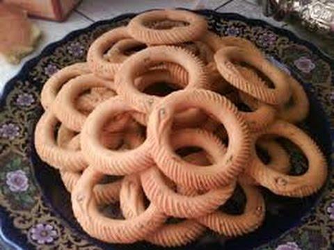 حلويات العيد : الكعك الوجدي مع المقادير و طريقة التحضير