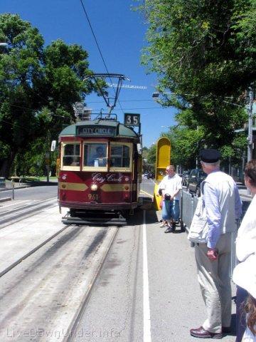 Tramwaj City Circle, Melbourne, Australia