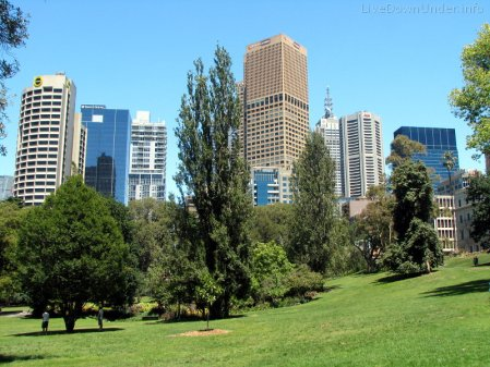 Treasury Gardens, Melbourne