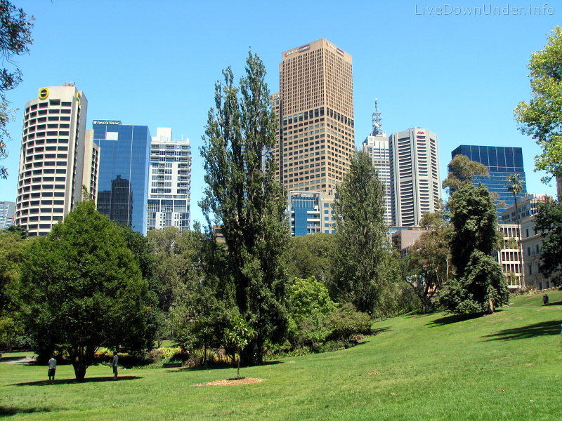 Treasury Gardens, Melbourne