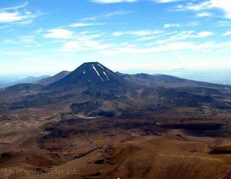 Mount Ngauruhoe, Tongariro National Park, Nowa Zelandia