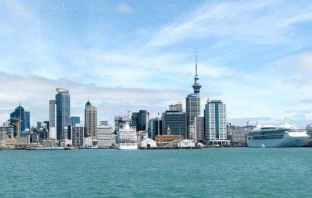 panorama Auckland City, Nowa Zelandia