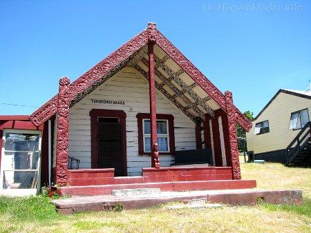 domek Maorysów, Rotorua, Nowa Zelandia