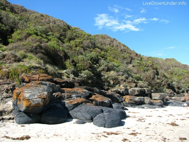 Bushrangers Bay beach