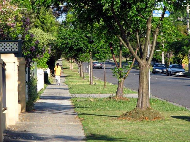 chodnik w Melbourne