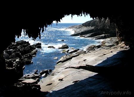 Admiral's Arch, Wyspa Kangura, Australia Południowa