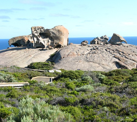 Remarkable Rocks, Wyspa Kangura