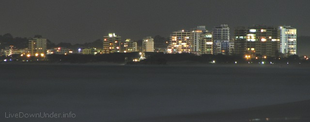 Maroochydore by night