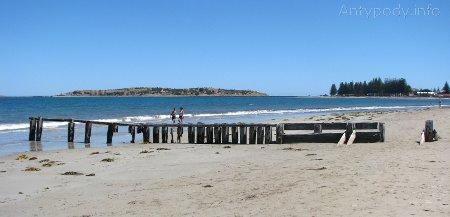 plaża w Victor Harbor