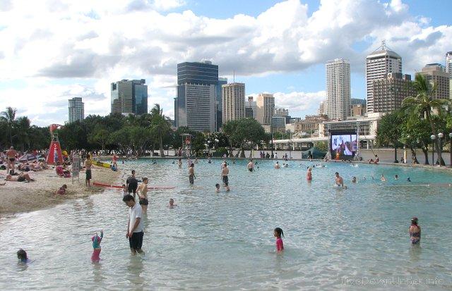 Brisbane plaża