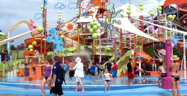 WhiteWater World, Nickelodeon