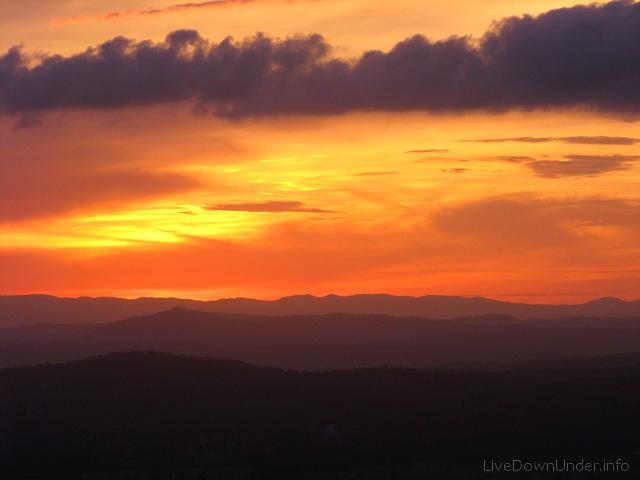 Sunset, Tamborine Mountain