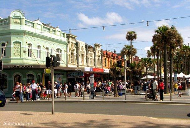 The Corso, Manly, Sydney, Australia