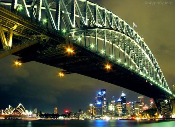 Opera i most w Sydney, Australia