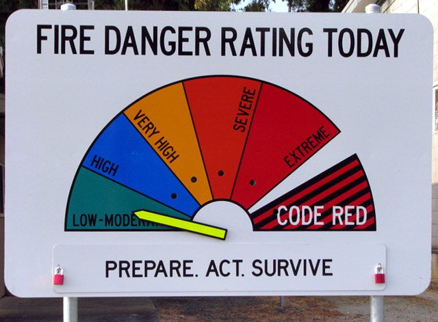 Skala zagrożenia pożarowego