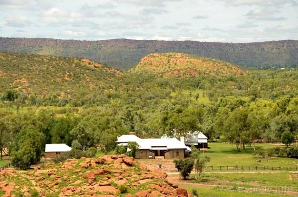 Stacja telegrafu w Alice Springs