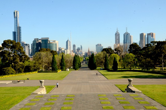 panorama Melbourne, Australia