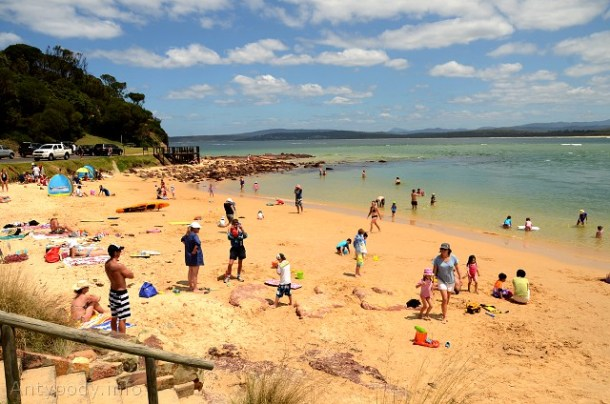 Bar Beach, Merimbula, NSW, Australia