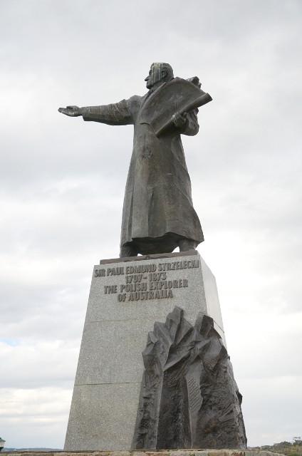 Pomnik Pawła Strzeleckiego, Jindabyne, Australia