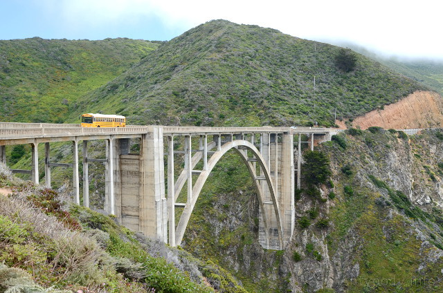 Bixby Creek Bridge, Big Sur, Kalifornia, USA