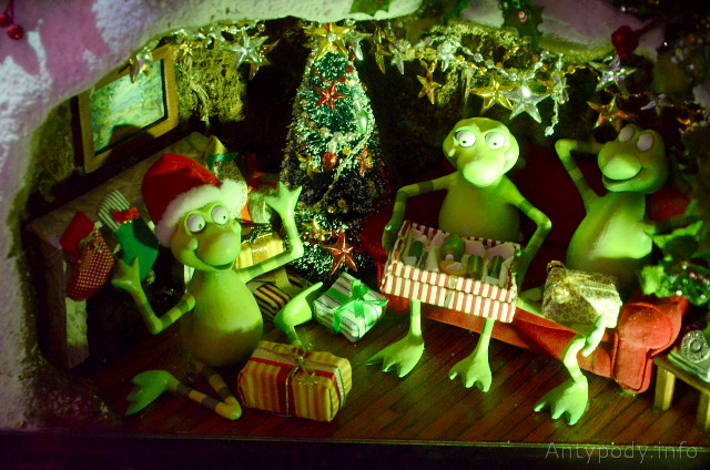 W oknie u Myera 2012, Święta w Australii
