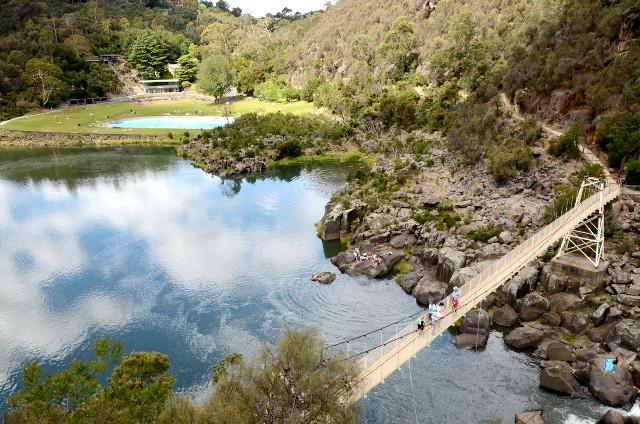 Cataract Gorge, Launceston, Tasmania, Australia