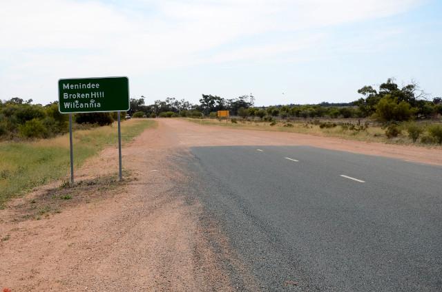 outback Australia: asfalt się kończy