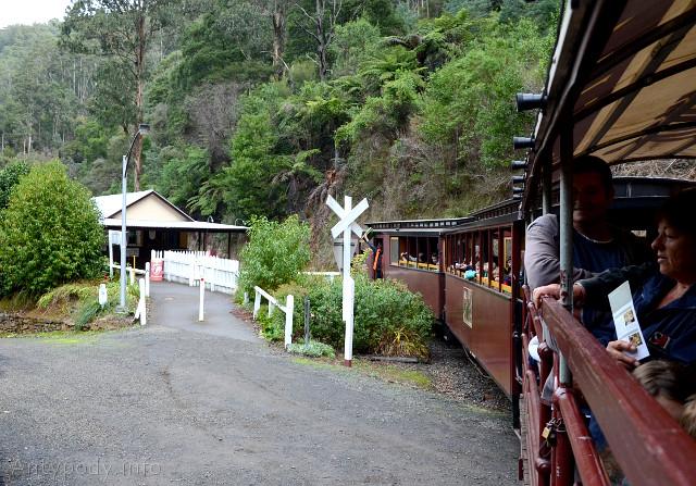 Walhalla, Australia - stara kolejka wąskotorowa