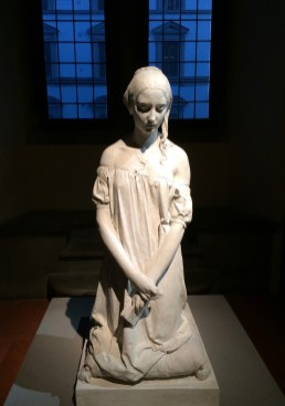 Morning Prayer - Vincenzo Vela, 1846