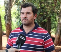 Javier Amann, productor ganadero.