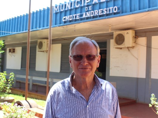 Bruno Beck, intendente de Andresito.