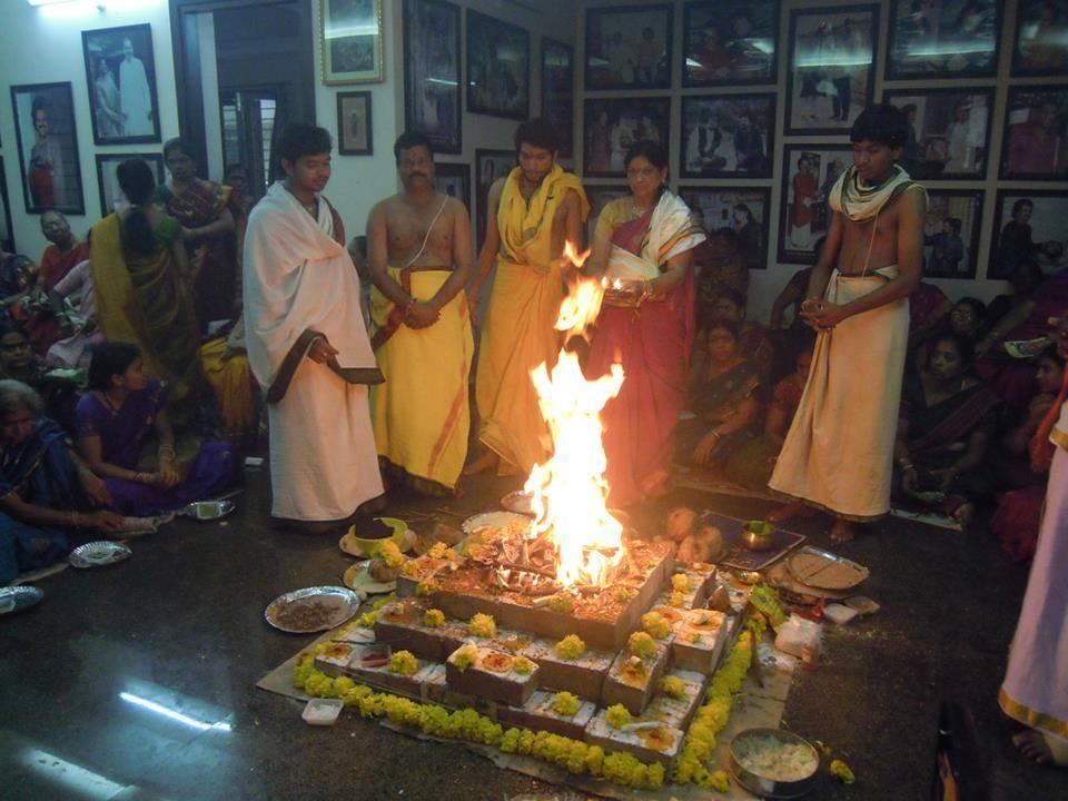 At daivagna Sharma's home 2