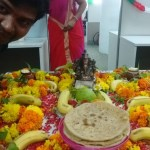 Ganapathi pooja at office