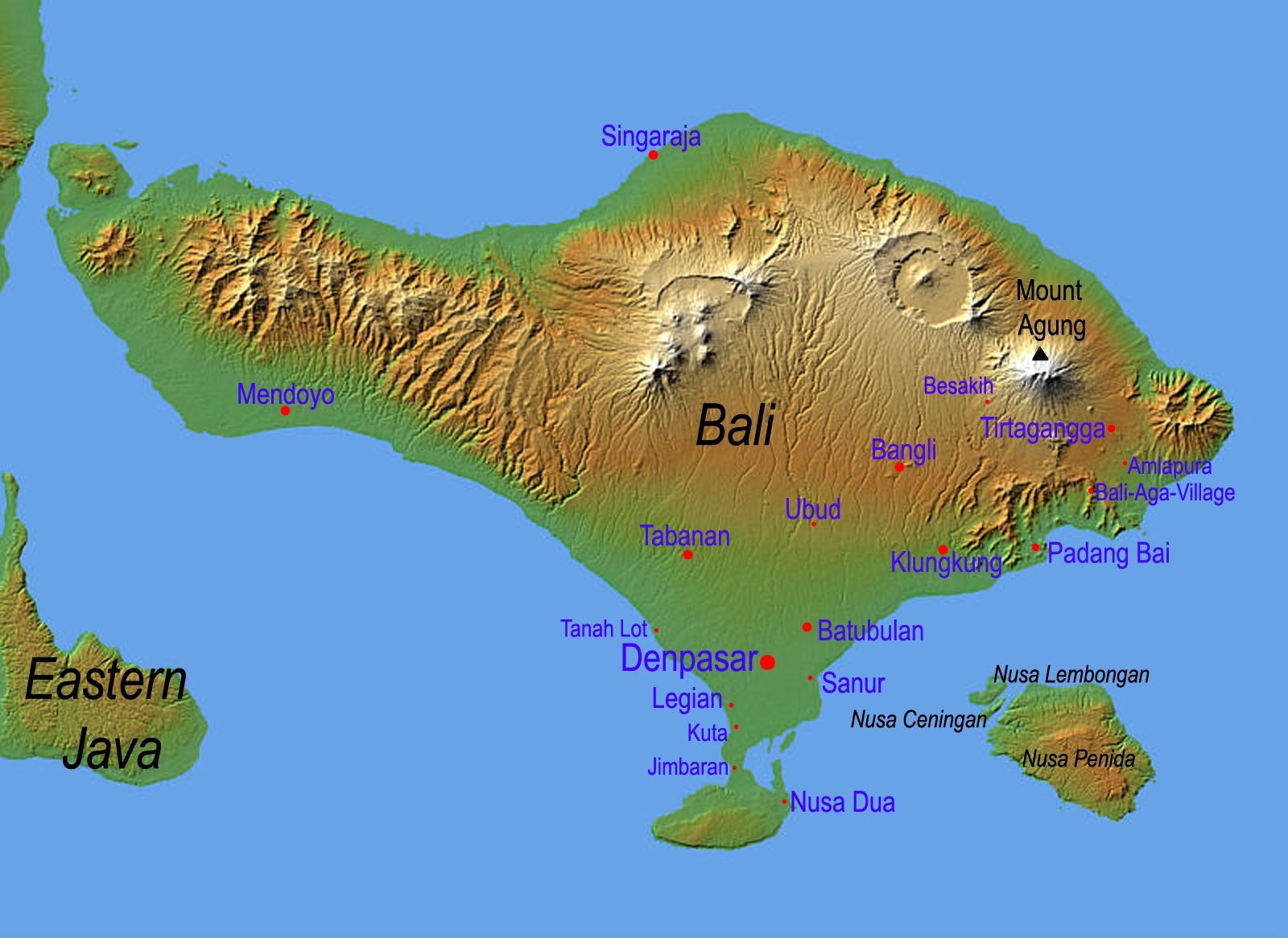 Bali_Labeled_map