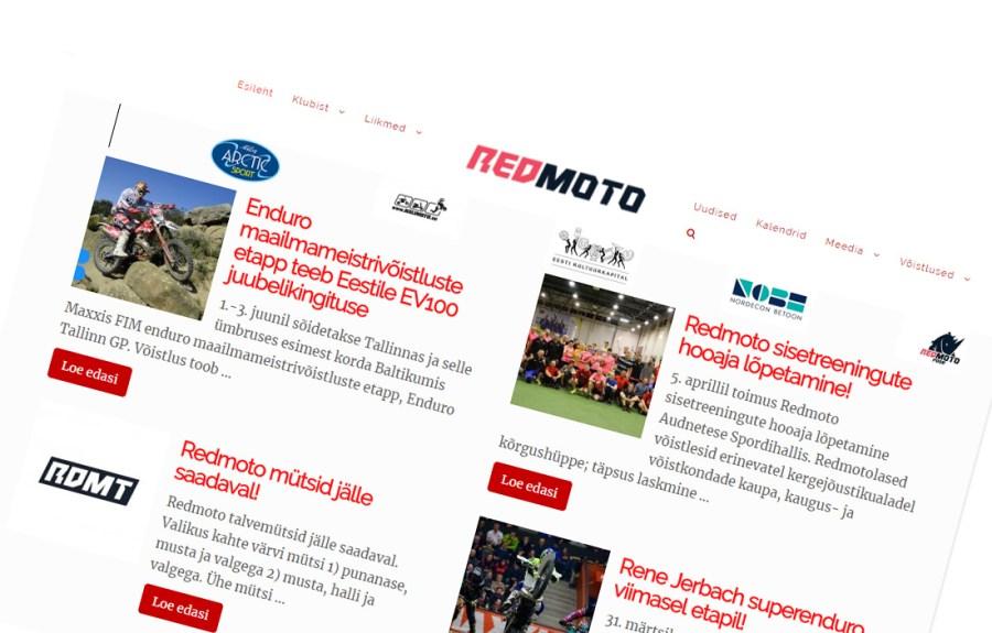 Redmoto veeb