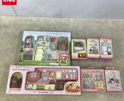 1円~ エポック社 シルバニアファミリー はじめてのシルバニアファミリー おすすめ家具セット、くるみリスちゃんのおすすめ家具セット 等