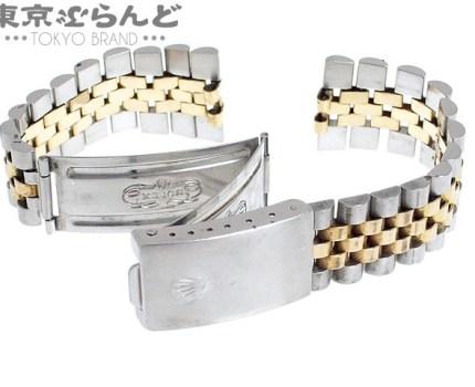 101492124 1円 ロレックス ROLEX 62523H.18 デイトジャスト用 ジュビリーブレス 純正ブレス SS YG コンビ ブレスレット バンド