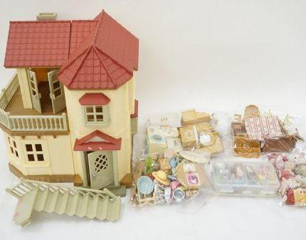 063 s2152 シルバニアファミリー 家 家具 小物 他 まとめセット ジャンク品