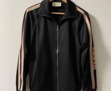 GUCCI 21SS グッチ ロゴ オーバーサイズ テクニカルジャージー ジャケット ブルゾン S 確実正規品 バレンシアガ ルイヴィトン ディオール