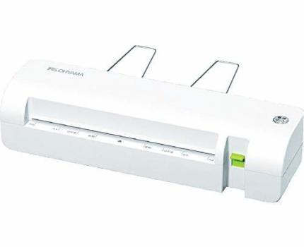 アイリスオーヤマ(IRIS OHYAMA) 1)本体 アイリスオーヤマ ラミネーター A4対応 ~100μm対応 ワンタッチ操作