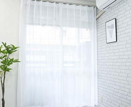 日本織物中央卸商業組合連合会 【cloth shop 布や】ミラーレースカーテン UV 外から見えにくい