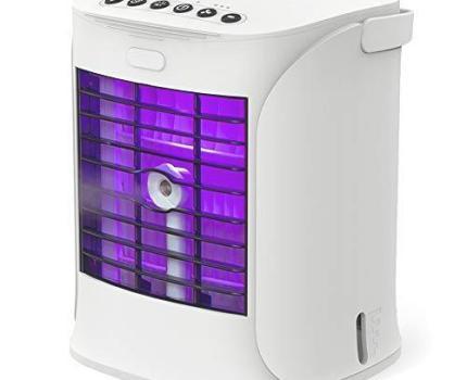 未使用・すぐ発送 Sanvu 冷風機 ミニ クーラー 卓上水冷クーラー 1個 卓上 小型 持ち運び 冷風扇 コンパクト おしゃれ 家庭用 卓上 USB
